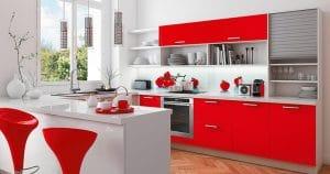 On ose la cuisine rouge vif !
